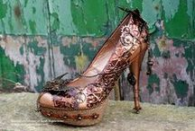 *Steampunk Footwear* / Steampunk Footwear is creative and eyecatching and can be a great weapon against Steamonsters