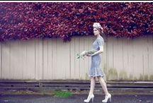 F L O R A L - A F F A I R / Published in Elegant Magazine - May 2014 Issue - Photographer: Ricci R. Chen, Model Nina Mischenko at Leo Models, Make-up Kym Davison for Swank Makeup Artistry, Designer Christine Gallinger