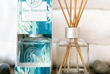Spa Springs / Greenleaf's newest fragrance for 2016! Aquatic notes are brightened with bergamot and green tangerine and balanced with musk and amber in a refreshing blend that's sure to delight the senses.