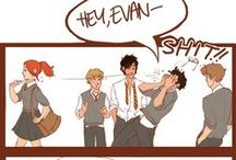 It's Evans, Potter! + Marauders