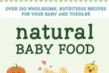 """Natural Baby Food"" book / Recipes from my cookbook"