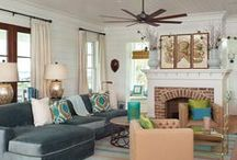 Living rooms, Entry Ways & Hallways / by Sarah Strickland