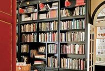 book spaces & places / Finding a great book is half the battle. Finding the perfect space to store it, or read and reflect on its greatness, is the rest.