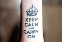 Keep Calm ♔ / by Amrita ★