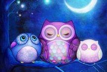 Annya Kai Owls / by Annya Kai Art