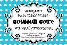 Kindergarten:  Math, Misc. / by Tracy Ballin