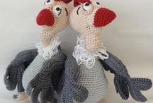 CROCHET DOLLS AND TOYS / by Debra McCloud