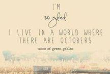 Fall is my Favorite / by Kelly Jones