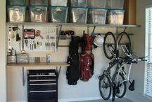 garage / Manly things plus organization makes Dave something something.