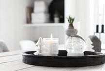 Styling / From Coffee table to Vanity .. inspiration pictures to help you style your way ..