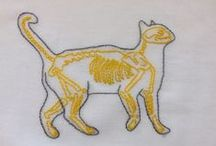 Cats & embroidery / Gatos y bordado