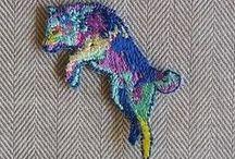 Dogs & Embroidery / Perros y Bordado / Bordados y patrones para bordar del mejor amigo del hombre.