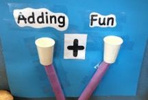 Kindergarten:  Adding and Subtracting / by Tracy Ballin