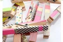 Ideas Washi Tape / Ideas para decorar con washi tape y hacer las cosas más bonitas con esta cinta japonesa :)  #manualidades #diy #washitape