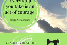Quotes by C. Adele / Inspirational quotes