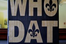 WHO DAT?! / FOOTBALL PARTY / by The Pickled Hoot