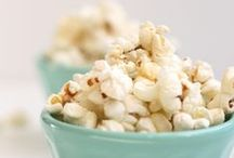 Popcorn / It's what's for dinner.