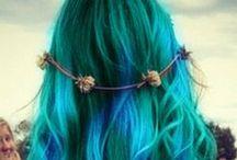 Hair And Beauty / Mermaid Hair styles #hair #hairstyles #curls #mermaidhair #mermaids