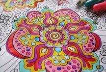 Coloring for adults and kids. :)