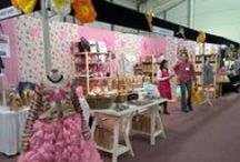 Knitting and Stitching Show Edinburgh 2016 /  The Wooly Witch Adventure on Stand G4 - Knitting Kits and Wool Galore