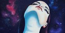 Intergaláticos / Sobre o universo acima de nós e sobre o universo que existe em nós: Inexplicável. (...) Talia Pedon