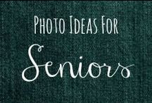 Photo Ideas: Seniors / I take pictures of people quite often. Espeically with my newest project: Natural Beauties: Beautiful Faces. I am always in need of posing ideas! / by Helen Stafford