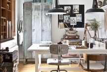 """Rustic Scandanavian / If I had the time and money.... I would have loved to make my entire house look like this :-).    Also known as the """"Soft Industrial Interior Design Style"""""""