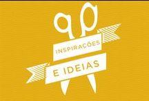 Inspirações e ideias legais! / Ideias criativas para se inspirar e deixar a imaginação fluir