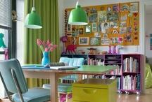 Creative Work Studio Delights / inspiration for creating work studio