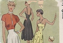 i Heart Vintage Patterns / collection of patterns from 40's to 70's.. I would love to get my hands on