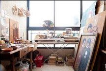 Work Space / by Clementine Griffith