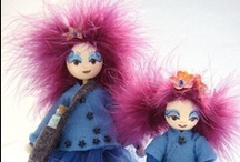 Dawn Alice Rogers - Wood & Rope Dolls / by Dawn Rogers
