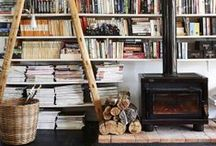 Libraries & Shelving / by Clementine Griffith