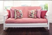 Organic Decorative Futon Covers / Our cotton organic futon covers and mattress pads come from untreated GMO seeds, healthy soil through crop rotation and the use of beneficial insect and trap crops.