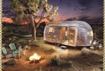 TRAILER WORLD!  AKA SPACE 13 / Glamping, Vintage Trailers, Camping, Caravans, Decorating,  / by GB Egger