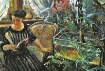 Anitque Fish Aquarium and Birdcage Homes / Sometimes, more is better.   / by GB Egger