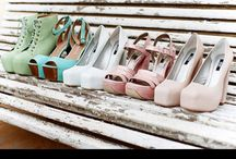 Pastel Vintage Decor / Visit us on www.vanillaslatedesigns.com.au for more design inspiration in Pastel Colours.