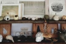 """Bohemian Naturalist Home / bohemian """"naturalist"""" to me... this is a description I've googled & don't get too many results for so I think it needs to be elaborated on! it's part industrial, rustic, eclectic, ever slightly shabby-chic, scientific, nautical, antiqued & batik-ed, taxidermy-ed, hunter gatherer vibe, global textiles, clean-rough edges, warm earth tones, cool muted hues, bring the outside-inside goodness. / by Clementine Griffith"""
