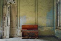 Bohemian Glam & Rust / Victorian, French, rusticity, eclectic electric shock. / by Clementine Griffith