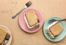 Cakes / From simple slab cakes to elaborate layer cakes, whether crumb-topped or frosted and filled, we love all things cake. / by Saveur