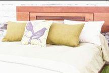 Oak Finish Bedroom design / by The Futon Shop Organic Futons & Mattresses