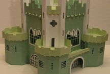 Art - Dollhouses > Castles / by Dawn Rogers