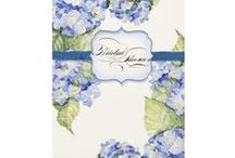 Blue Hydrangea Wedding / Hydrangeas are timeless, romantic, classic and beautiful!  If you love them here are some inexpensive, elegant and sophisticated ideas for creating a wedding with this theme.  #weddings #wedding #bluehydrangea #hydrangeas #romantic #floral #flowers #invitations  / by Audrey Jeanne's