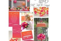 Orange & Pink Weddings / Two colors that used to NEVER be put together - how did we miss their beauty for so long?!   / by Audrey Jeanne's