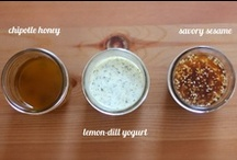 Sauces, Dips and Dressings / by Ami L