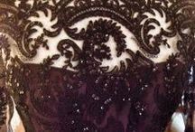 The Black Dress / A few designs in deep tones....