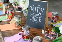 SHE kids party ideas / Color