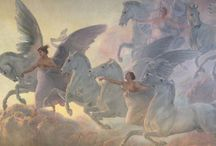Mythical Magical Creatures / Mythical magical creatures, Angels, fairies / by Ksusha Scott