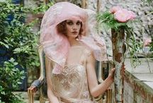 The Garden Collection / A collection of romantic wedding and evening gowns by Joanne Fleming Design.
