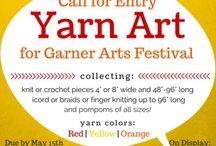 Yarn Installation Art